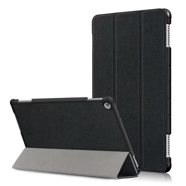 華為 MediaPad M2 M3 M5 Lite LTE 8.0 8.4 10.1 10.8 保護套三折平板支架平板套
