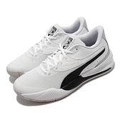 Puma Triple 籃球鞋 白 黑 Profoam中底 男鞋 運動鞋 萬花筒設計概念 【ACS】 195217-06