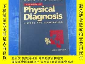 二手書博民逛書店Textbook罕見of Physical Diagnosis History and Examination