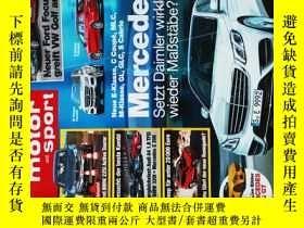 二手書博民逛書店auto罕見motor and sport HEFT.20 2014 09 18 外文原版汽車雜誌Y14610