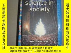 二手書博民逛書店Science罕見in SocietyY25820 Matthew David Red Globe Press