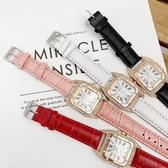 滿鑽手錶 石英女錶 巴黎時尚雜誌封面同款 送禮盒包裝
