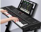 斯帕勒充電61鍵多功能專業電子琴初學者成年人兒童入門幼師電鋼88 酷男精品館