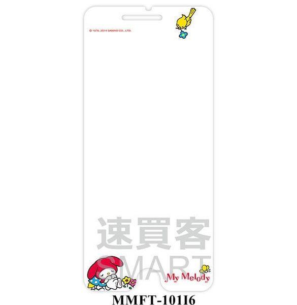 """三麗鷗家族 正版授權 iPhone6(4.7"""") 單面 彩繪螢幕貼"""