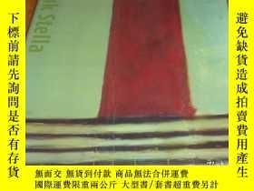 二手書博民逛書店2手英文罕見Frank Stella, 1958 弗蘭克·斯特拉