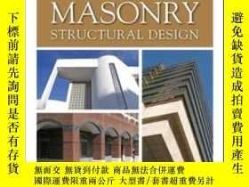 二手書博民逛書店Masonry罕見Structural DesignY307751 Richard E. Klingner M