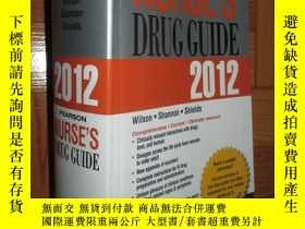二手書博民逛書店Pearson罕見Nurse s Drug Guide 2012 【詳見圖】Y255351 Billie An