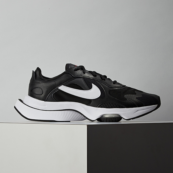 Nike Air Zoom Division 男鞋 黑白 氣墊 舒適 緩震 休閒鞋 CK2946-003