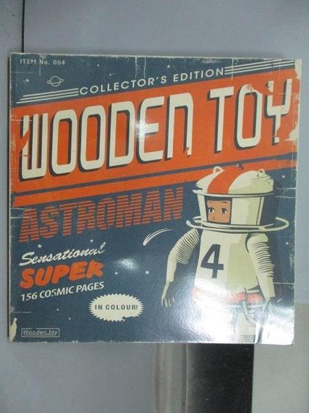 【書寶二手書T9/設計_QDO】Wooden Toy Astromsn