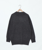 出清 針織衫 羔羊毛衣 女 圓領 中長版 可手洗 日本品牌【coen】