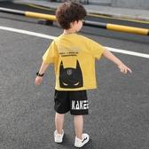 童裝男童夏裝套裝2020新款洋氣兒童短袖中大童4韓版6帥氣7潮10歲5 童趣屋
