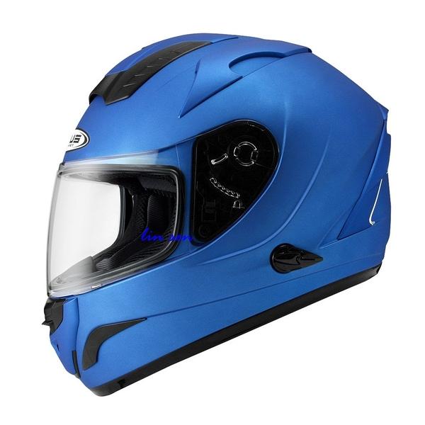 ZEUS 瑞獅安全帽,ZS-806F,素/消光藍