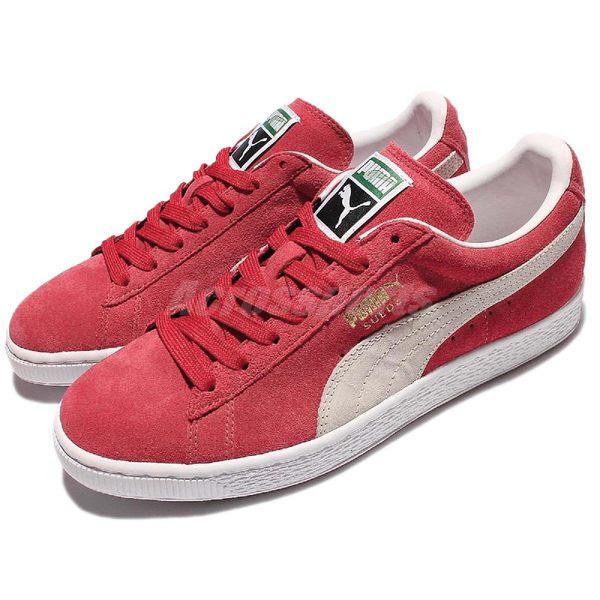 Puma 休閒鞋 Suede Classic Red 紅白 麂皮 流行 男鞋【PUMP306】 35263405