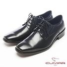 CUMAR真皮綁帶型紳士皮鞋-黑