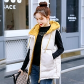 羽絨棉馬甲女秋冬短款2020新款百搭坎肩女外穿韓版背心馬甲外套女 雙十二購物節