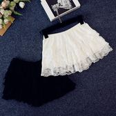 新款經典層層蕾絲闊腿短褲熱褲內搭褲打底褲