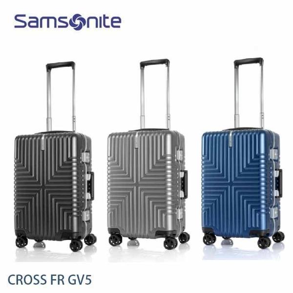 特價 Samsonite 新秀麗 CROSS FR GV5 20吋登機箱 輕鋁框 霧面PC 大容量 飛機輪