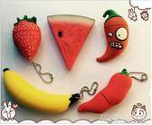 隨身碟新32g卡通迷你水果草莓32G創意個性可愛女生禮品兩用  夢想生活家