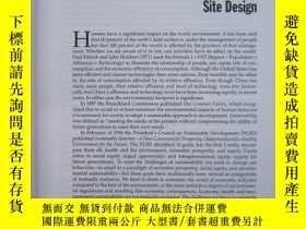 二手書博民逛書店Site罕見Planning and Design Handbo