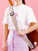 吉他背帶 吉他背帶 民謠 女生個性 學生刺繡民族風經典款吉他帶子肩帶斜背 8色 雙12提前購