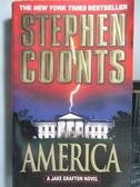 【書寶二手書T6/原文小說_ORF】AMERICA_Stephen Coonts