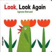 《幼兒想像概念書: 數數.動物 》LOOK LOOK AGAIN /硬頁翻翻書