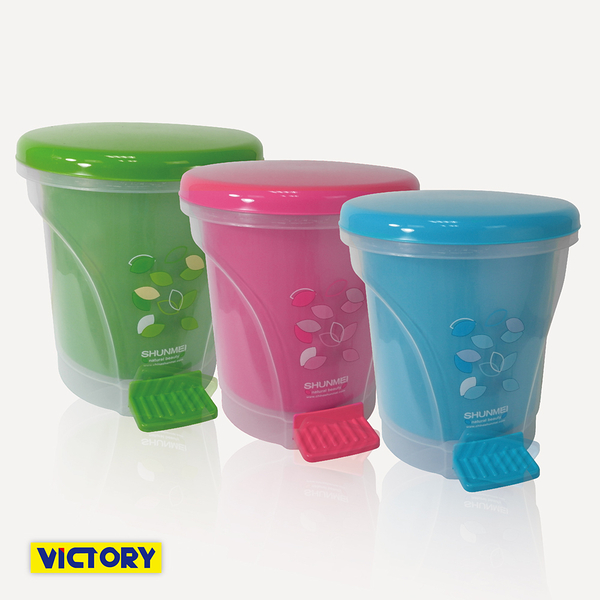 【VICTORY】分離式垃圾桶(寬內桶)#1034004 有蓋垃圾桶