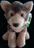 自帶香味小灰狼玩偶擺設禮物毛絨玩具生日禮物男女生