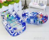 肥皂盒 雙層肥皂盒精美裝飾香皂盒簡約貝殼 創想數位