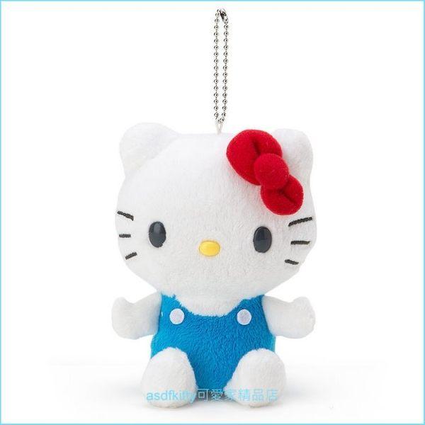 asdfkitty可愛家☆KITTY造型玩偶雙面捲尺-可量到150公分-可當吊飾-日本正版商品