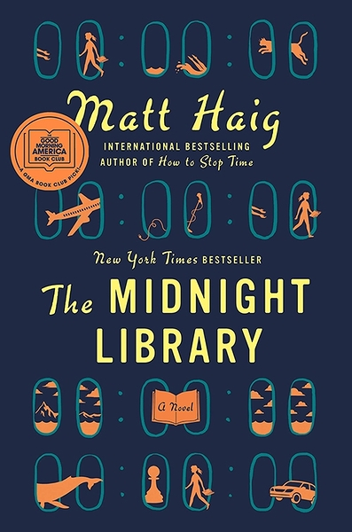 2021 美國暢銷書排行榜 The Midnight Library: A Novel Hardcover – September 29, 2020