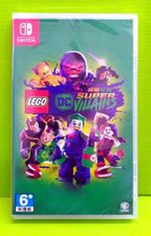 NS 樂高DC超級反派英雄Lego DC Super Vilains 中英文版 (一日特賣)