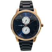 【完全計時】手錶館│Max Max  MAS7022-2 湛藍雙眼系列 316L不銹鋼錶帶