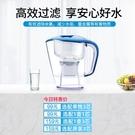 凈水壺過濾水壺凈水器家用直飲自來水過濾器便攜水杯濾芯1751 果果輕時尚
