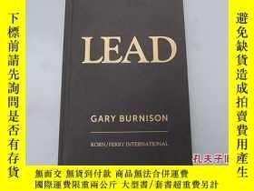 二手書博民逛書店LEAD罕見GARY BURNISONY207801 Gary