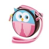 Dabbawalla 側背小圓包 貓頭鷹 | 1歲以上歲瓦拉包-外出用品(嬰兒/寶寶/幼兒/幼童)
