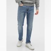 Gap男裝時尚水洗五口袋牛仔褲539088-中度靛藍