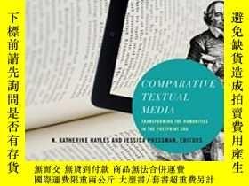 二手書博民逛書店Comparative罕見Textual Media-比較語篇媒體Y436638 N. Katherine H