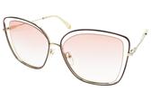 Chloe 太陽眼鏡 CE133S 211 (棕金-漸層粉鏡片) 典雅女神大方框  # 金橘眼鏡