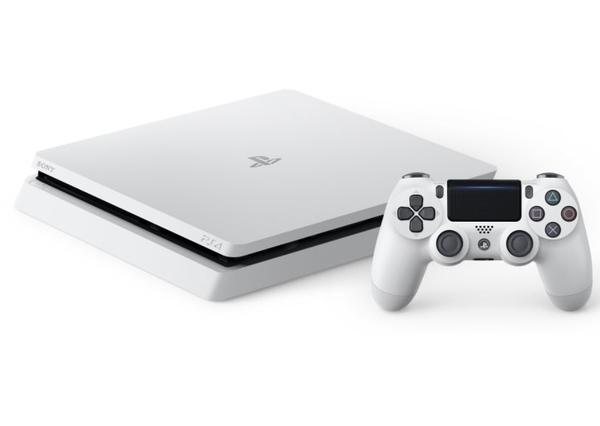 【PS4主機】 SLIM 2218A 500G 冰河白色+原廠直立架+魔物獵人類比套+機身貼 【台中星光電玩】