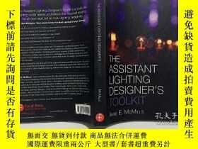 二手書博民逛書店The罕見Assistant Lighting Designer s Toolkit 輔助照明設計師的工具包 英文