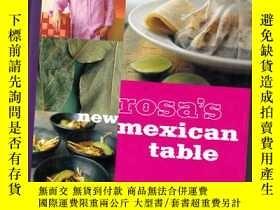 二手書博民逛書店ROSA S罕見NEW MEXICAN TABLE【373】Y