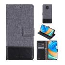 小米紅米 8 Note 8T Note 9s 9 Pro Max 拼接皮革帆布手機殼 皮套帶卡槽
