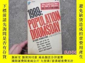 二手書博民逛書店外文罕見1989 population doomsdayY208