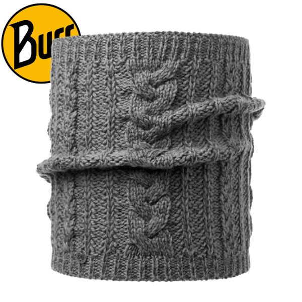 【BUFF 西班牙 針織保暖領巾 《知性灰》 DARLA】116045/秋冬/針織圍巾/脖圍★滿額送