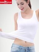 女士純棉吊帶背心寬鬆工字打底衫小短款潮內搭性感外穿無袖上衣夏