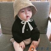 兒童草帽寶寶遮陽帽防曬帽沙灘蕾絲漁夫帽親子夏款【淘夢屋】