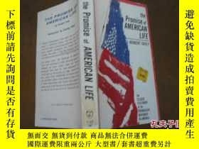 二手書博民逛書店the罕見promise of AMERICAN LIFEY20