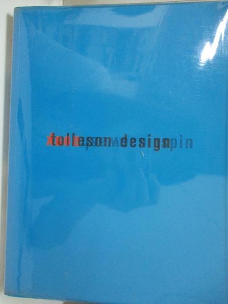 【書寶二手書T2/廣告_EZW】Soak Wash Rinse Spin: Tolleson Design_Tolleson, Steven