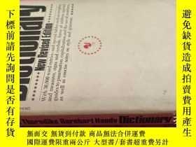 二手書博民逛書店【英文原版】The罕見World-Famous Thorndike Barnhart Handy Dictiona